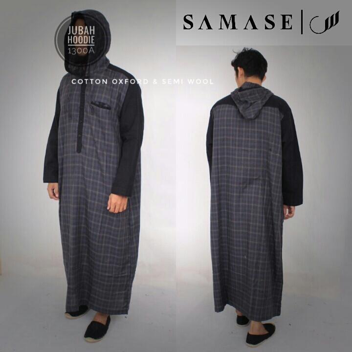 Jubah Hoodie Samase 1300-02