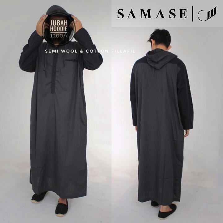 Jubah Hoodie Samase 1300-07