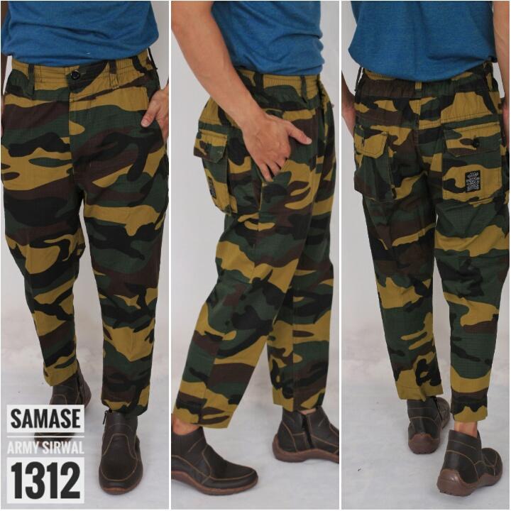 Celana Sirwal Army Samase 1312-01