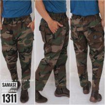 Samase 1311-02 Celana Sirwal Army Corak Coklat Hijau Hitam