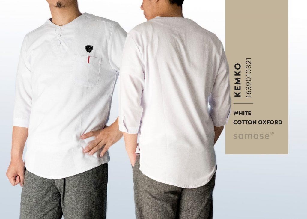Baju Koko Warna Putih