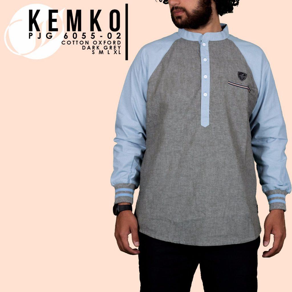 Baju Koko Modern Lengan Panjang