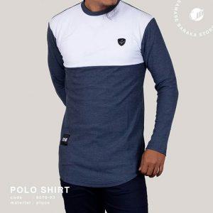 Samase Polo Shirt Biru Misti