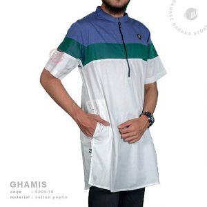 Samase Ghamis Ziper White