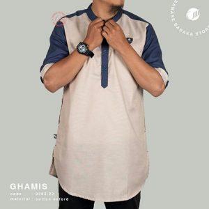 Samase Ghamis Cream Navy